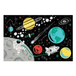 Outer Space Glow-In-The-Dark Puzzle Space Children's Puzzles