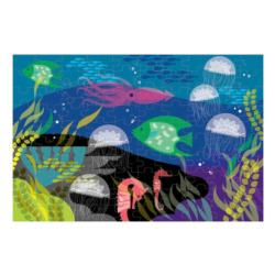 Under The Sea Glow In The Dark Puzzle Marine Life Glow in the Dark