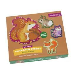 Forest Friends My First Touch & Feel Puzzles Forest Children's Puzzles