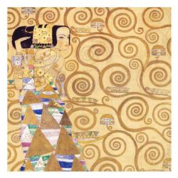 Klimt Expectation Contemporary & Modern Art Jigsaw Puzzle