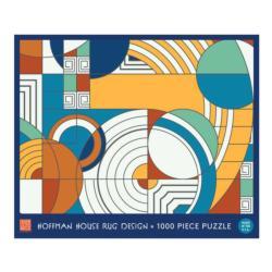 Frank Lloyd Wright Foundation Hoffman House Rug Design Contemporary & Modern Art Jigsaw Puzzle