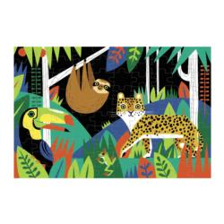 Rainforest Glow in the Dark Puzzle Jungle Animals Children's Puzzles