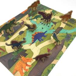 Dinosaur Park Puzzle Play Set Dinosaurs Activity Kits