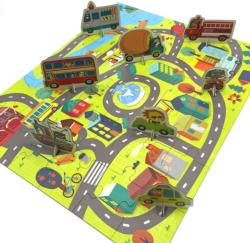 Around the Town Puzzle Play Set Vehicles Children's Puzzles