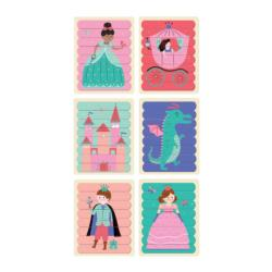 Enchanting Princess Puzzle Sticks Princess Double Sided