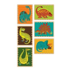 Mighty Dinosaurs Puzzle Sticks Dinosaurs Double Sided