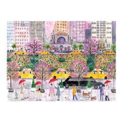 Spring on Park Avenue New York Jigsaw Puzzle