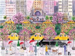 Spring on Park Avenue New York Jigsaw Puzzle