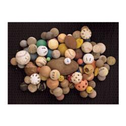 Found in Nature: Beached Balls Pattern / Assortment Jigsaw Puzzle
