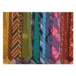 Vintage Neckties Pattern / Assortment Jigsaw Puzzle