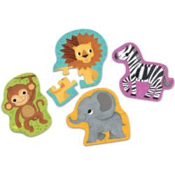 Jungle Animals Jungle Animals Children's Puzzles