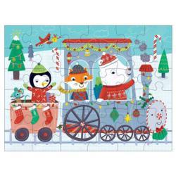 Christmas Train Christmas Children's Puzzles