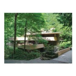 Fallingwater Contemporary & Modern Art Double Sided Puzzle