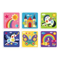 Unicorn Rainbow Unicorns Children's Puzzles