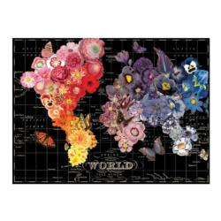 Full Bloom Collage Jigsaw Puzzle