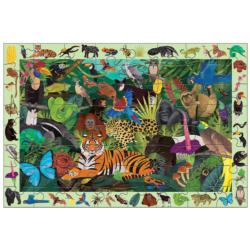 Rainforest Jungle Animals Children's Puzzles