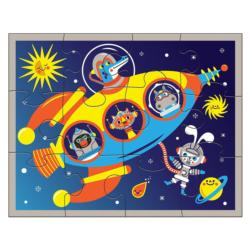 Outer Space Educational Children's Puzzles