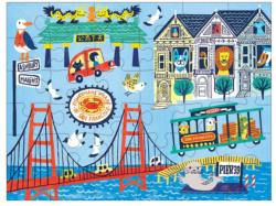 San Francisco Bridges Children's Puzzles