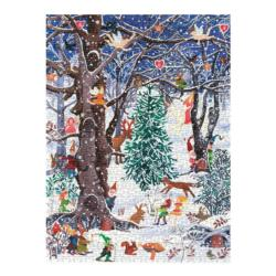 Advent Forest Christmas Jigsaw Puzzle