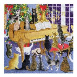 Christmas Chorus Christmas Jigsaw Puzzle