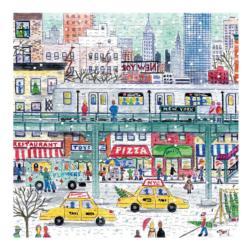Michael Storrings New York City Subway New York Jigsaw Puzzle