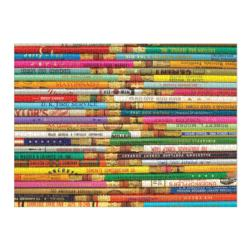 Phat Dog Vintage Pencils Everyday Objects Jigsaw Puzzle