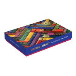 Phat Dog Vintage Library Library / Museum Jigsaw Puzzle