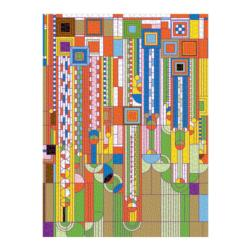Frank Lloyd Wright Saguaro Cactus And Forms Contemporary & Modern Art Jigsaw Puzzle