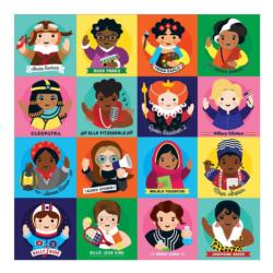 Little Feminist Collage Jigsaw Puzzle