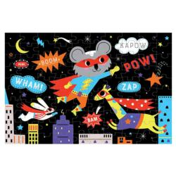 Superhero - Scratch and Dent Super-heroes Children's Puzzles