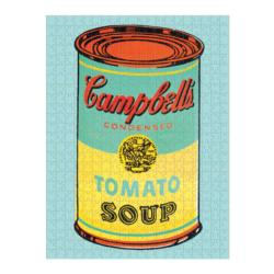 Andy Warhol Soup Can Contemporary & Modern Art Double Sided Puzzle