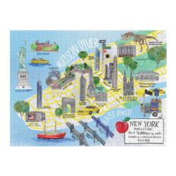 New York City Map New York Jigsaw Puzzle