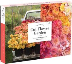 Floret Farm's Cut Flower Garden Flowers Double Sided Puzzle