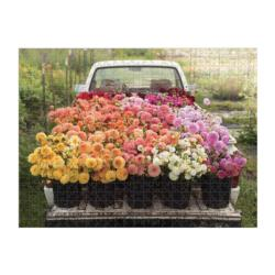 Floret Farm's Cut Flower Garden Garden Double Sided Puzzle