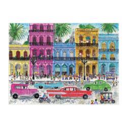 Michael Storrings Cuba Street Scene Jigsaw Puzzle