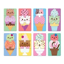 Ice Cream Cats Sweets Children's Puzzles
