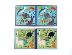 Land & Sea Animals Wildlife Children's Puzzles