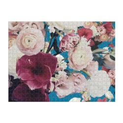 Ashley Woodson Bailey Flowers Double Sided Puzzle