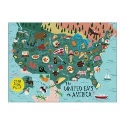 United Eats Of America 1000pc Puzzle Unicorns Jigsaw Puzzle