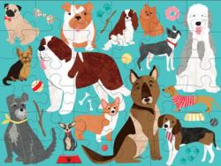 Hot Dogs Graphics / Illustration Children's Puzzles