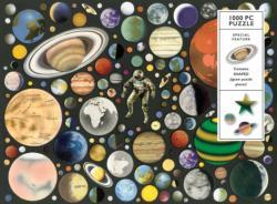 Zero Gravity Collage Jigsaw Puzzle