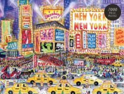 Storrings Great White Way New York Jigsaw Puzzle