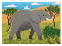 African Elephant (Mini) Elephants Miniature Puzzle