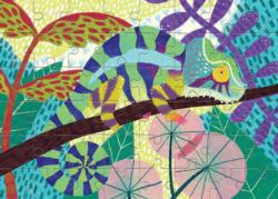 Panther Chameleon Animals Children's Puzzles