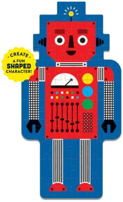 Robot Graphics / Illustration Children's Puzzles