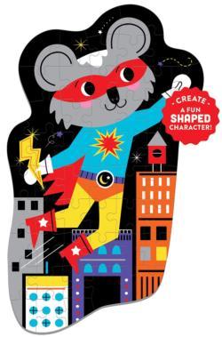 Superhero Cartoons Children's Puzzles