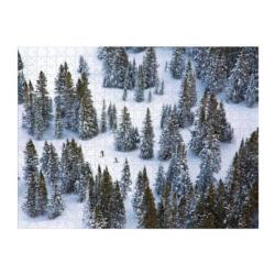 Gray Malin Snow Winter Double Sided Puzzle