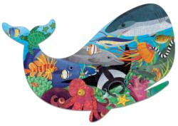 Ocean Life Collage Jigsaw Puzzle