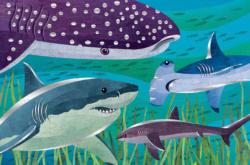 Foil Sharks Graphics / Illustration Children's Puzzles