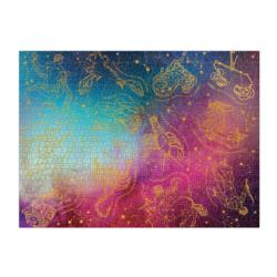 Foil Astrology Space Jigsaw Puzzle